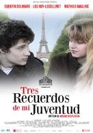 Trois souvenirs de ma jeunesse - Argentinian Movie Poster (xs thumbnail)