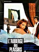 Frau Wirtin hat auch eine Nichte - French Movie Poster (xs thumbnail)