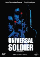 Universal Soldier - German DVD movie cover (xs thumbnail)