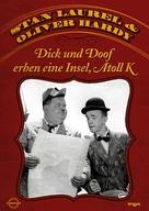 Atoll K - German DVD cover (xs thumbnail)