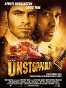 Unstoppable - French Movie Poster (xs thumbnail)