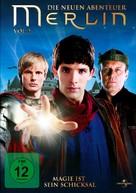 """Merlin"" - German DVD movie cover (xs thumbnail)"
