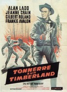 Guns of the Timberland - French Movie Poster (xs thumbnail)