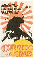 Currito de la Cruz - Spanish Movie Poster (xs thumbnail)