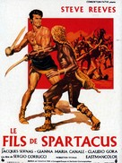 Il figlio di Spartacus - French Movie Poster (xs thumbnail)
