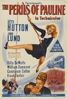 The Perils of Pauline - Australian Movie Poster (xs thumbnail)
