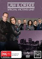 """Law & Order: Special Victims Unit"" - Australian DVD movie cover (xs thumbnail)"