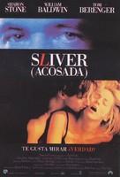 Sliver - Spanish Movie Poster (xs thumbnail)