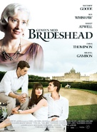 Brideshead Revisited - Danish Movie Poster (xs thumbnail)