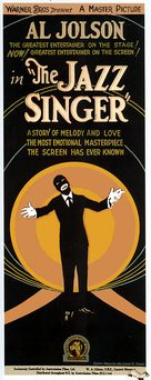 The Jazz Singer - Australian Movie Poster (xs thumbnail)