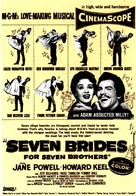 Seven Brides for Seven Brothers - poster (xs thumbnail)