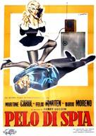 Nathalie, agent secret - Italian Movie Poster (xs thumbnail)