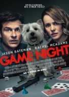 Game Night - German Movie Poster (xs thumbnail)