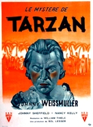 Tarzan's Desert Mystery - French Movie Poster (xs thumbnail)