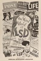 The Weird World of LSD - Movie Poster (xs thumbnail)