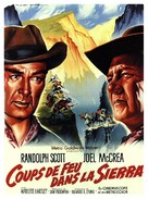 Ride the High Country - French Movie Poster (xs thumbnail)