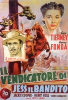 The Return of Frank James - Italian Movie Poster (xs thumbnail)