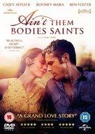 Ain't Them Bodies Saints - British DVD movie cover (xs thumbnail)