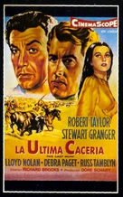 The Last Hunt - Spanish Movie Poster (xs thumbnail)