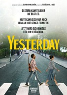 Yesterday - German Movie Poster (xs thumbnail)