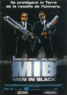 Men In Black - French Movie Poster (xs thumbnail)
