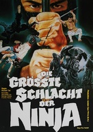 Shao Lin yu ren zhe - German Movie Poster (xs thumbnail)