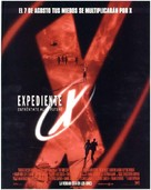 The X Files - Spanish Movie Poster (xs thumbnail)