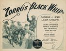 Zorro's Black Whip - Movie Poster (xs thumbnail)