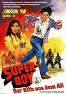Dynamite Johnson - German Movie Poster (xs thumbnail)