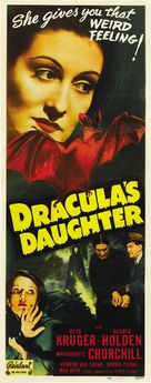 Dracula's Daughter - Re-release poster (xs thumbnail)