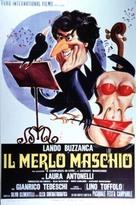 Il merlo maschio - Italian Movie Poster (xs thumbnail)
