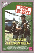 """Tour of Duty"" - Finnish VHS movie cover (xs thumbnail)"
