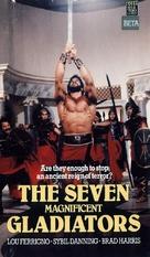 I sette magnifici gladiatori - Australian VHS cover (xs thumbnail)