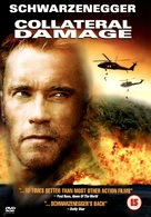 Collateral Damage - British DVD movie cover (xs thumbnail)