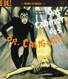 Das Cabinet des Dr. Caligari. - British Blu-Ray movie cover (xs thumbnail)