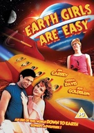 Earth Girls Are Easy - British DVD cover (xs thumbnail)