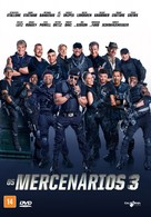 The Expendables 3 - Brazilian DVD movie cover (xs thumbnail)