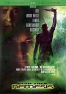 Star Trek: Nemesis - German DVD movie cover (xs thumbnail)