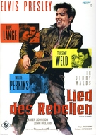 Wild in the Country - German Movie Poster (xs thumbnail)