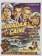 The Caine Mutiny - Belgian Movie Poster (xs thumbnail)