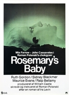 Rosemary's Baby - Danish Movie Poster (xs thumbnail)