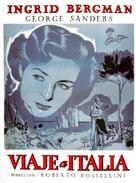 Viaggio in Italia - Cuban Movie Poster (xs thumbnail)