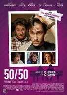 50/50 - German Movie Poster (xs thumbnail)