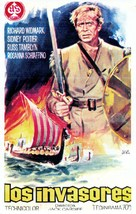 The Long Ships - Spanish Movie Poster (xs thumbnail)