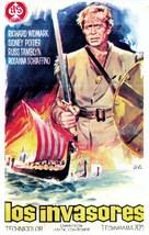 The Long Ships - Spanish Movie Poster (xs thumbnail)