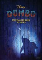 Dumbo - German Movie Poster (xs thumbnail)