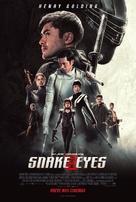 Snake Eyes: G.I. Joe Origins - Brazilian Movie Poster (xs thumbnail)