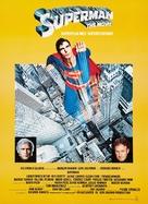 Superman - Danish Movie Poster (xs thumbnail)