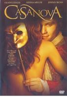 Casanova - Brazilian DVD movie cover (xs thumbnail)