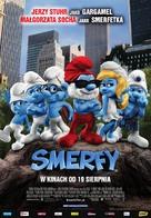The Smurfs - Polish Movie Poster (xs thumbnail)